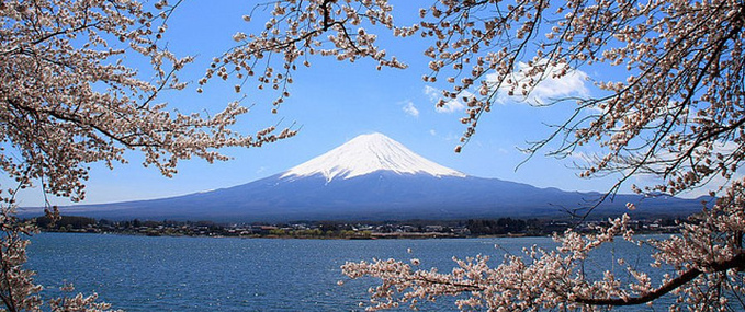Ponta itinerrio: Mt. Fuji