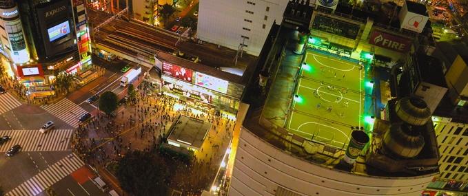路線提示:東京澀谷
