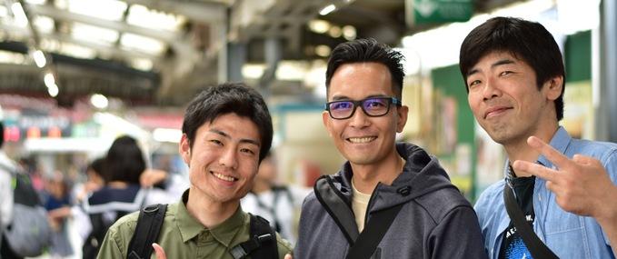 Huber: Meet Tomodachi Guides in Japan Vol.1