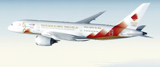 Tokyo 2020 Olympics: the Torch relay will arrive by special plane to Japan