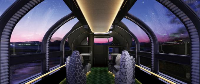 Twilight Express Mizukaze - the most luxurious of excursion trains