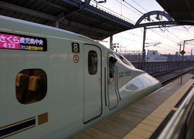The Kyushu Shinkansen line