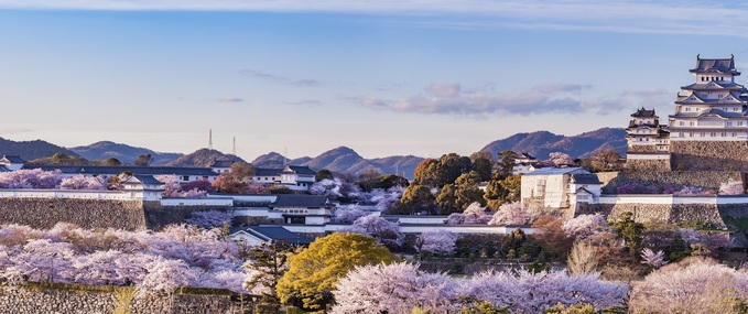 Visit Himeji, home of the most beautiful castle in Japan