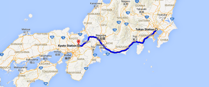 Japan Rail Pass Day Sample Itinerary Tokyo Kyoto Nara - Japan map nara