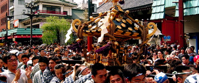 Experience a traditional festival