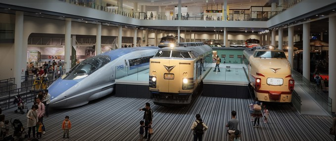 Visit the Kyoto Railway museum
